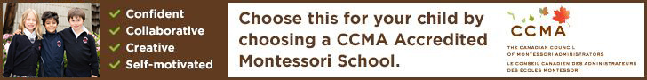 Choose this for your child by choosing a CCMA Accredited Montessori School.