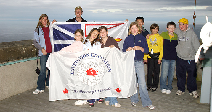 Expedition Education, East Coast Canada