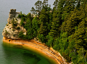 Lake Superior erosion