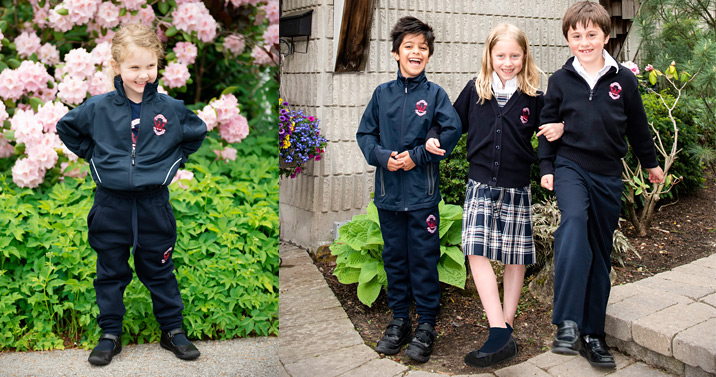 elementary uniforms, Dearcroft uniforms